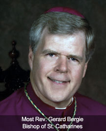 Bishop Gerard Bergie (2012 - 2013)