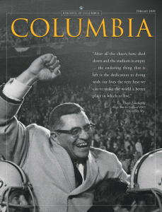 Columbia February 2020
